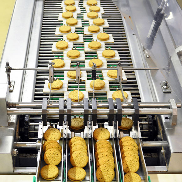 biscuits line machine food factory